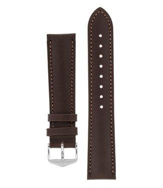 Hirsch Horlogebandje Kent Kalfsleer  22 mm