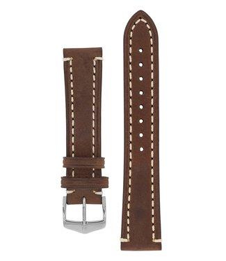 Hirsch Watchband Liberty calf leather 22 mm