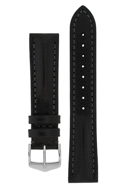 Watchband Lucca, Artisan Leather calf leather 24 mm