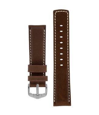 Hirsch Horlogebandje Mariner Kalfsleer 22 mm