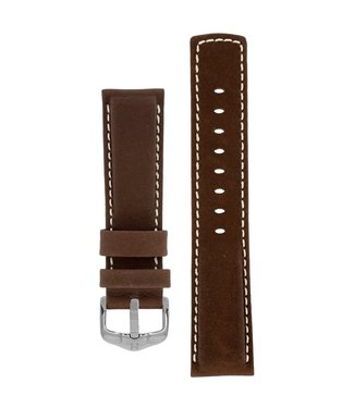 Hirsch Watchband Mariner calf leather 22 mm