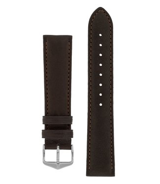 Hirsch Horlogebandje Merino, Artisan Leather Nappaschapenleer 20 mm
