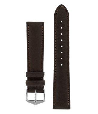 Hirsch Horlogebandje Merino, Artisan Leather Nappaschapenleer 22 mm
