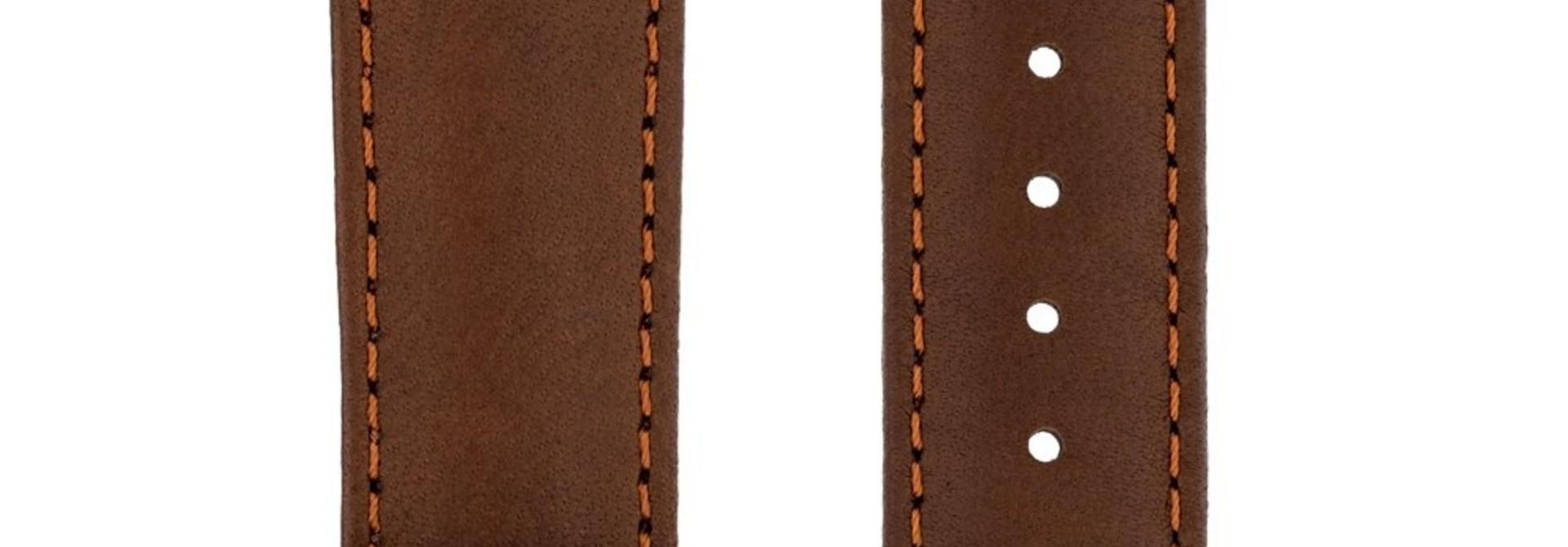 Horlogebandje Merino, Artisan Leather Nappaschapenleer 22 mm