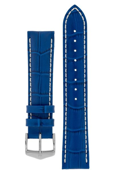 Watchband Modena Alligator embossed calf leather  18 mm