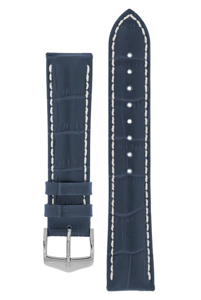 Watchband Modena Alligator embossed calf leather  19 mm