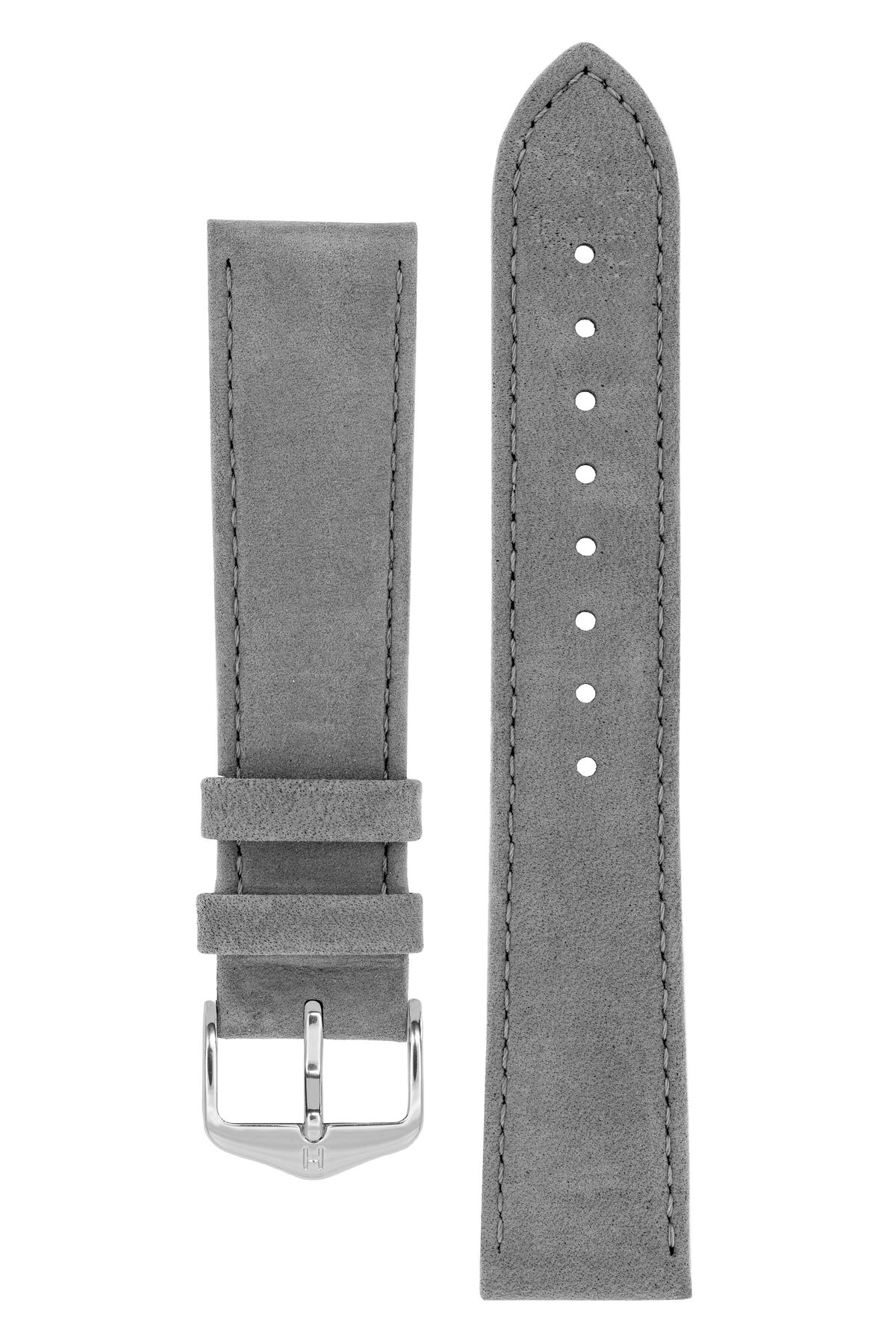 Horlogebandje Osiris Kalfsleer Nubuk 20 mm-3
