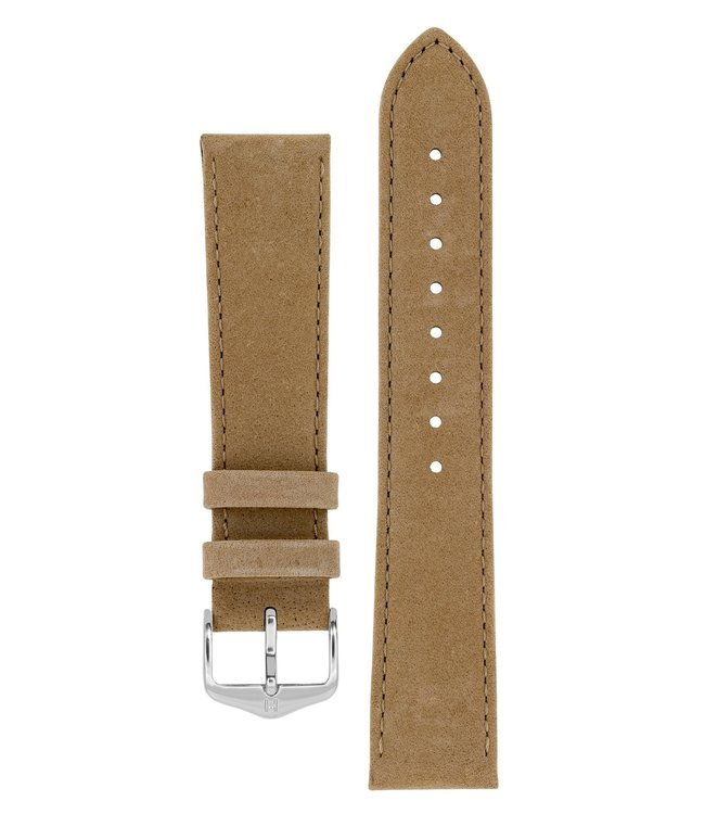 Horlogebandje Osiris Kalfsleer Nubuk 20 mm