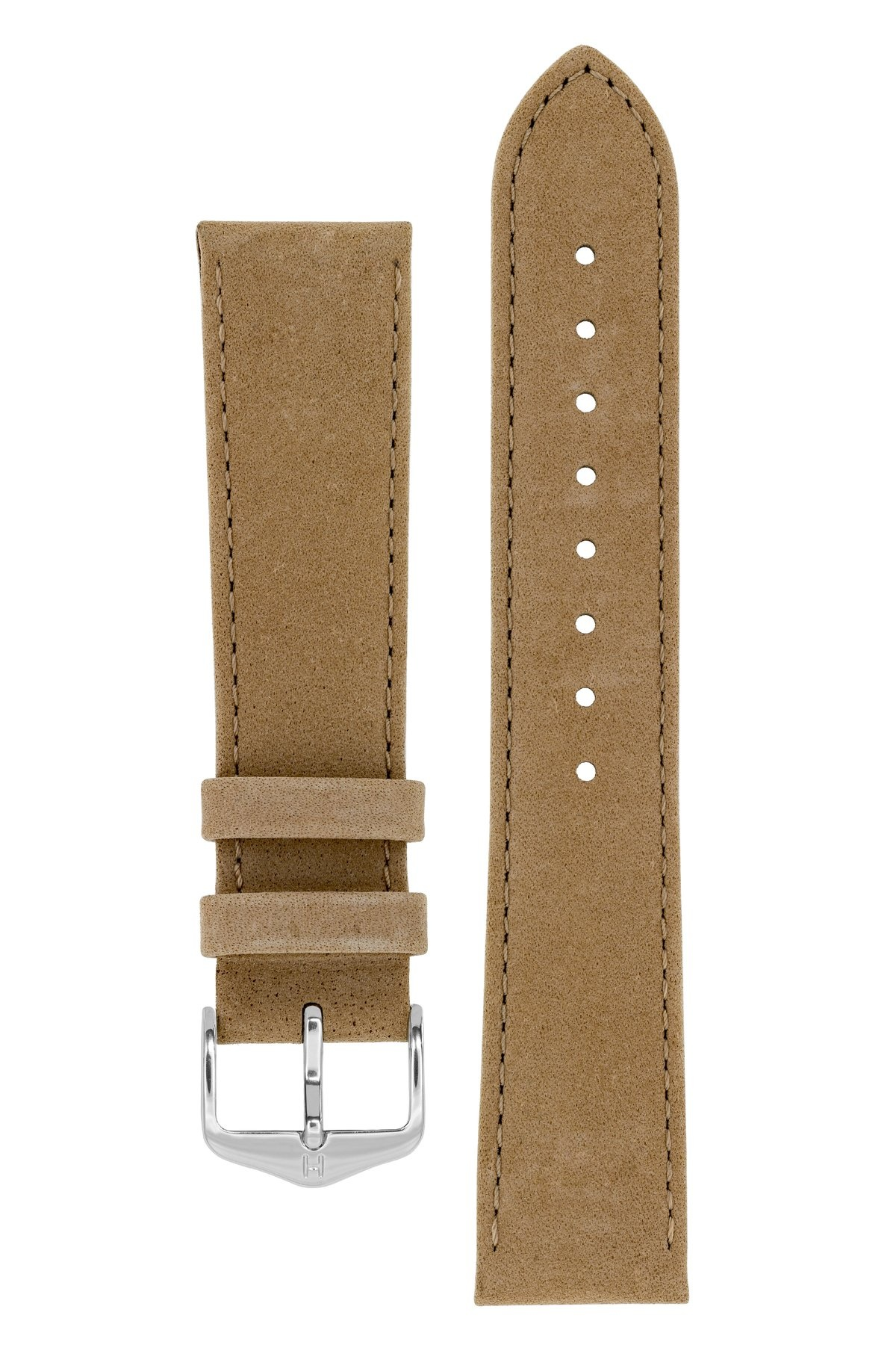 Horlogebandje Osiris Kalfsleer Nubuk 20 mm-1