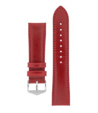 Hirsch Horlogebandje Osiris Rundboxleer 16 mm