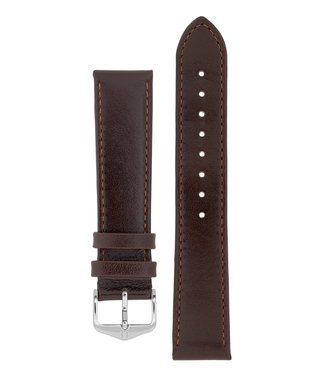 Hirsch Watch strap Osiris Rundboxleer 17 mm