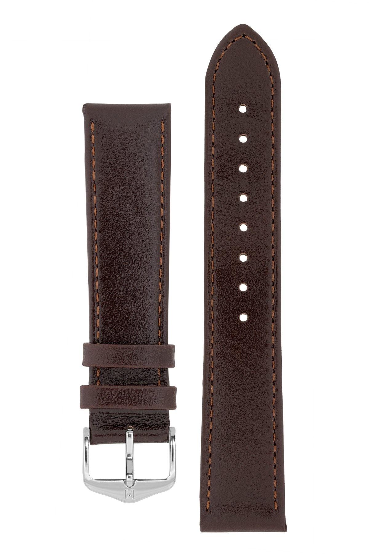 Horlogebandje Osiris Rundboxleer 17 mm-2
