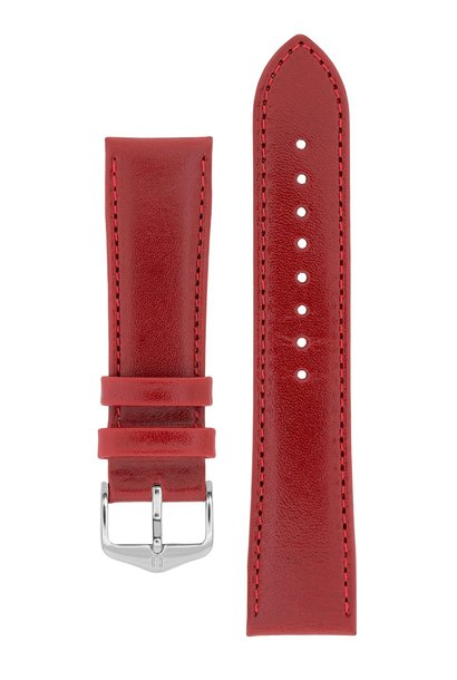 Watch strap Osiris Rundboxleer 18 mm