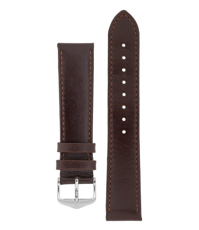 Horlogebandje Osiris Rundboxleer 22 mm