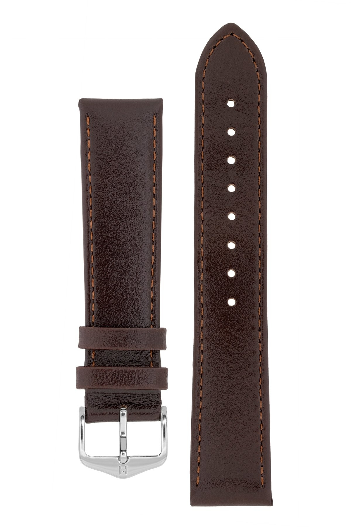 Horlogebandje Osiris Rundboxleer 22 mm-1