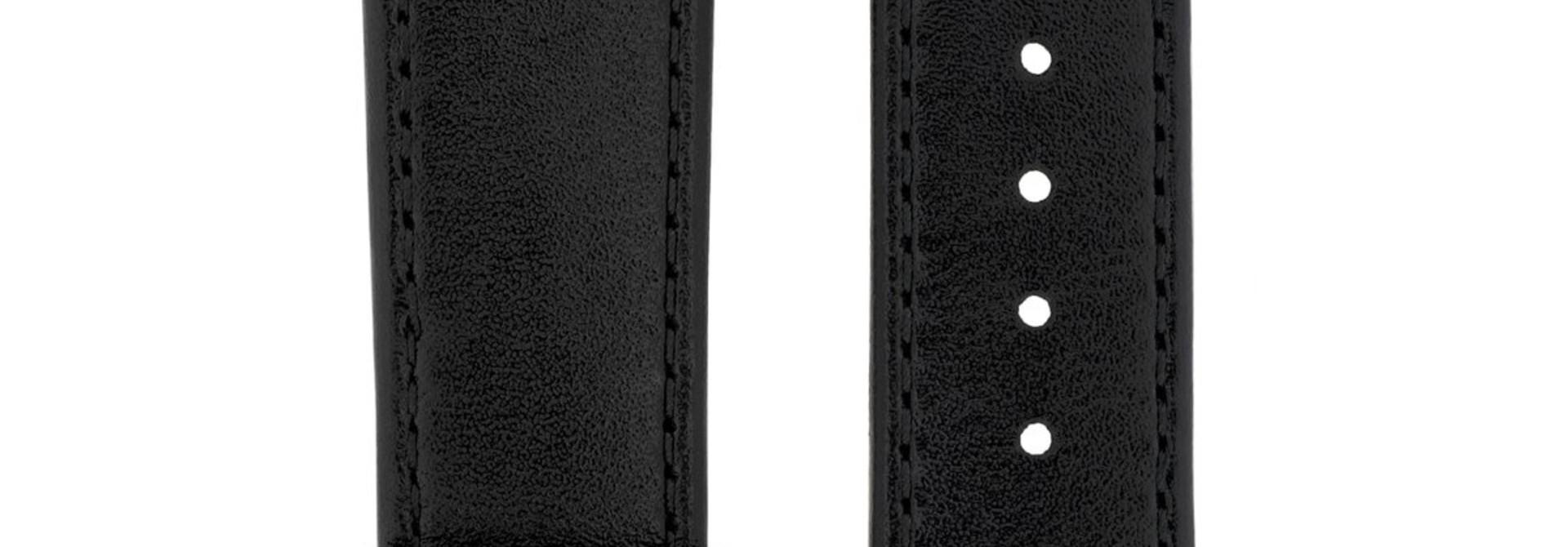 Horlogebandje Osiris Rundboxleer 24 mm