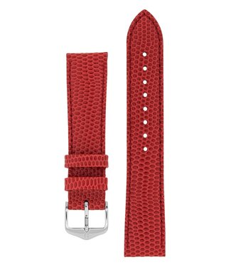 Hirsch Watchband Rainbow calf leather 12 mm