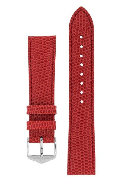 Watchband Rainbow calf leather 12 mm