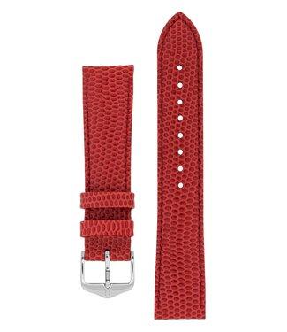 Hirsch Watchband Rainbow calf leather 16 mm