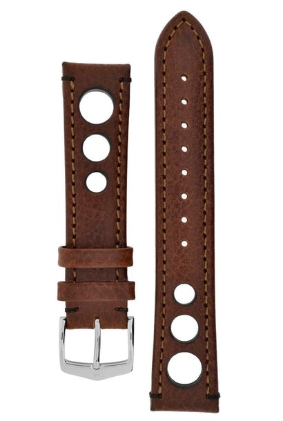 Watchband Rally calf leather  18 mm
