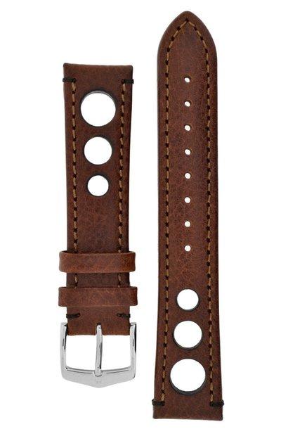 Watchband Rally calf leather  20 mm