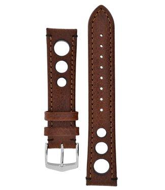 Hirsch Watchband Rally calf leather  22 mm