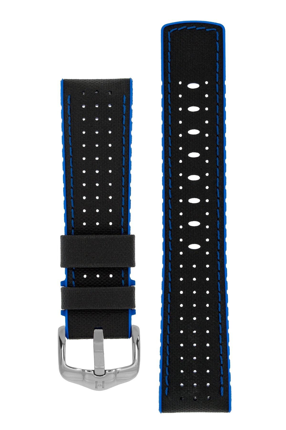 Horlogebandje Robby Kalfsleer + Premium Rubber 24 mm-2