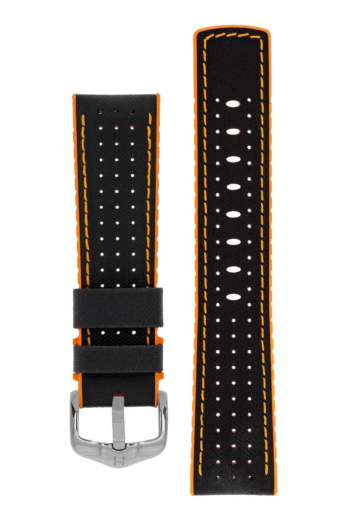 Horlogebandje Robby Kalfsleer + Premium Rubber 24 mm-4