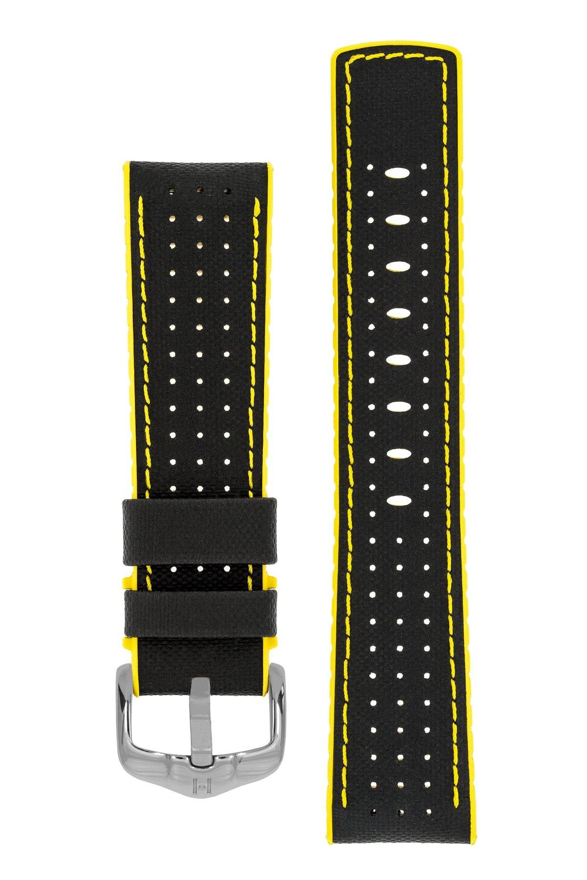 Horlogebandje Robby Kalfsleer + Premium Rubber 24 mm-6