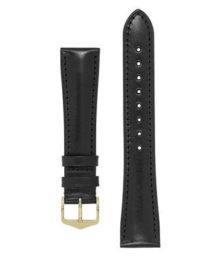 Hirsch Watchband Siena, Artisan Leather calf leather 19 mm