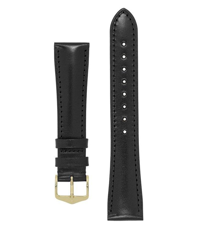 Hirsch Horlogebandje Siena, Artisan Leather Kalfsleer 19 mm
