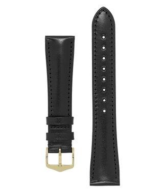 Hirsch Watchband Siena, Artisan Leather calf leather 20 mm