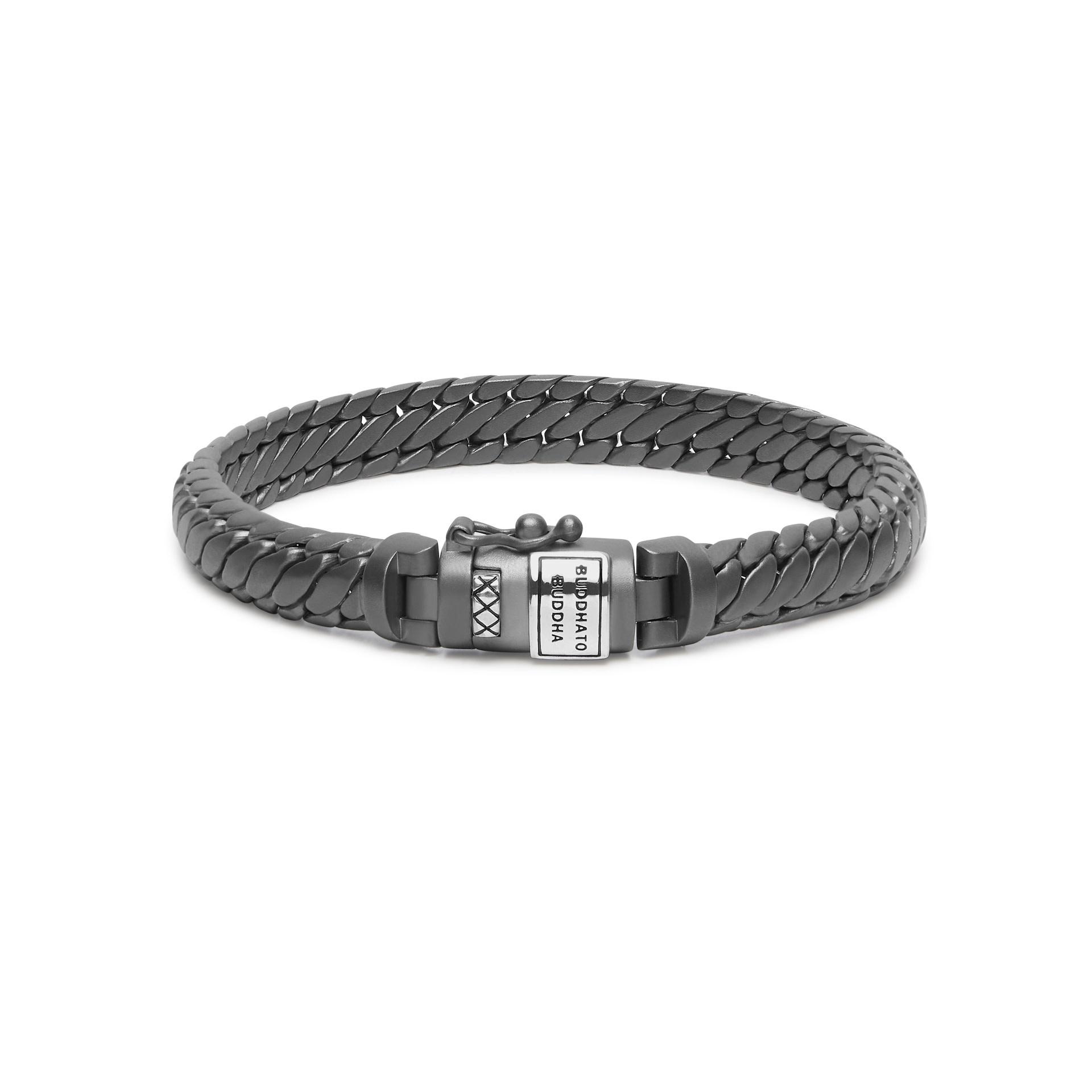 Bracelet Ben XS Black Rhodium Silver-5