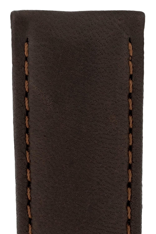 Horlogebandje Merino, Artisan Leather Nappaschapenleer 22 mm-3