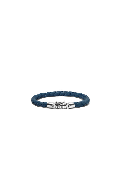 Armband Ben XS Rond Leer Reef