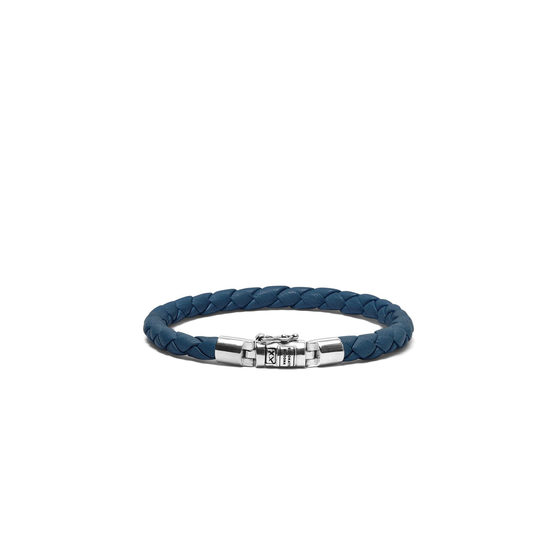 Armband Ben XS Rond Leer Reef-1