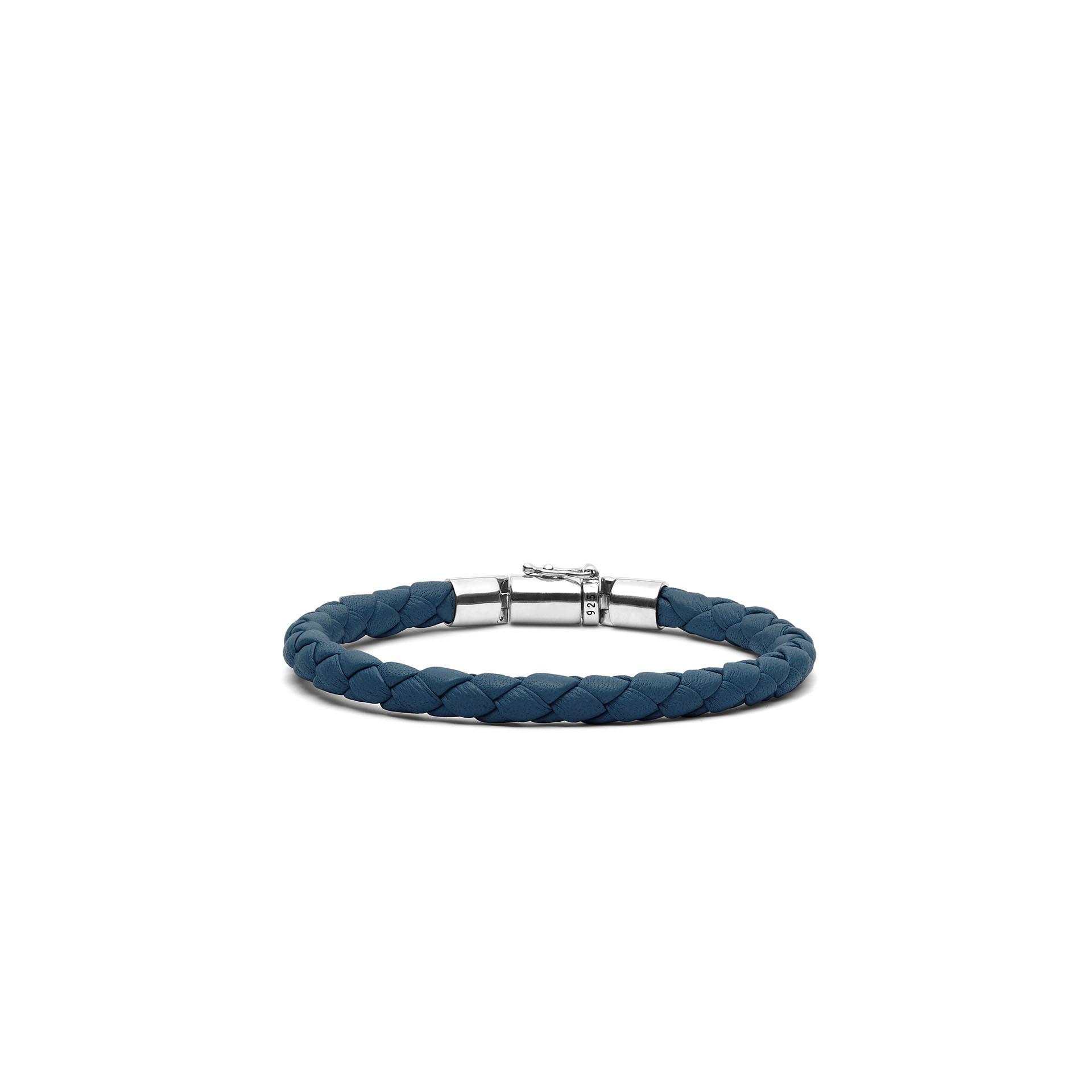 Armband Ben XS Rond Leer Reef-4