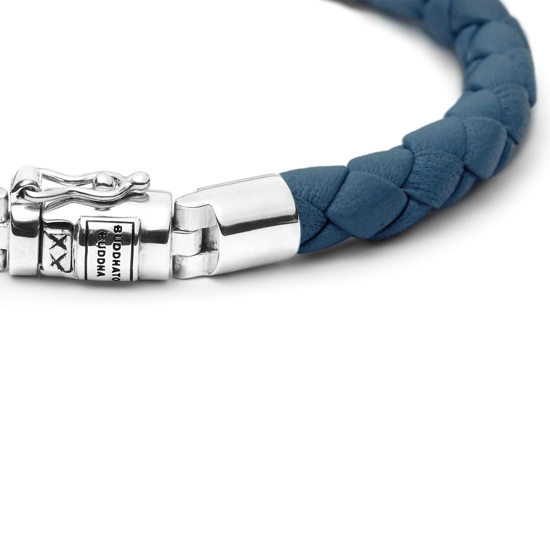 Armband Ben XS Rond Leer Reef-5
