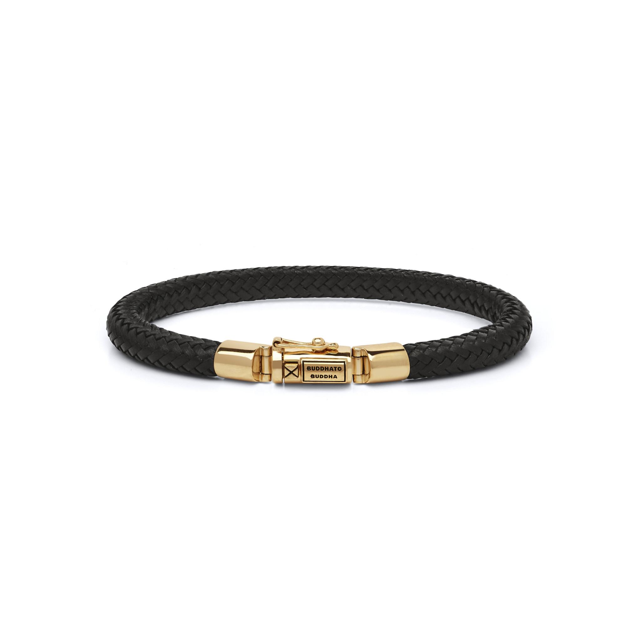 Bracelet Bennett Gold Leather-5