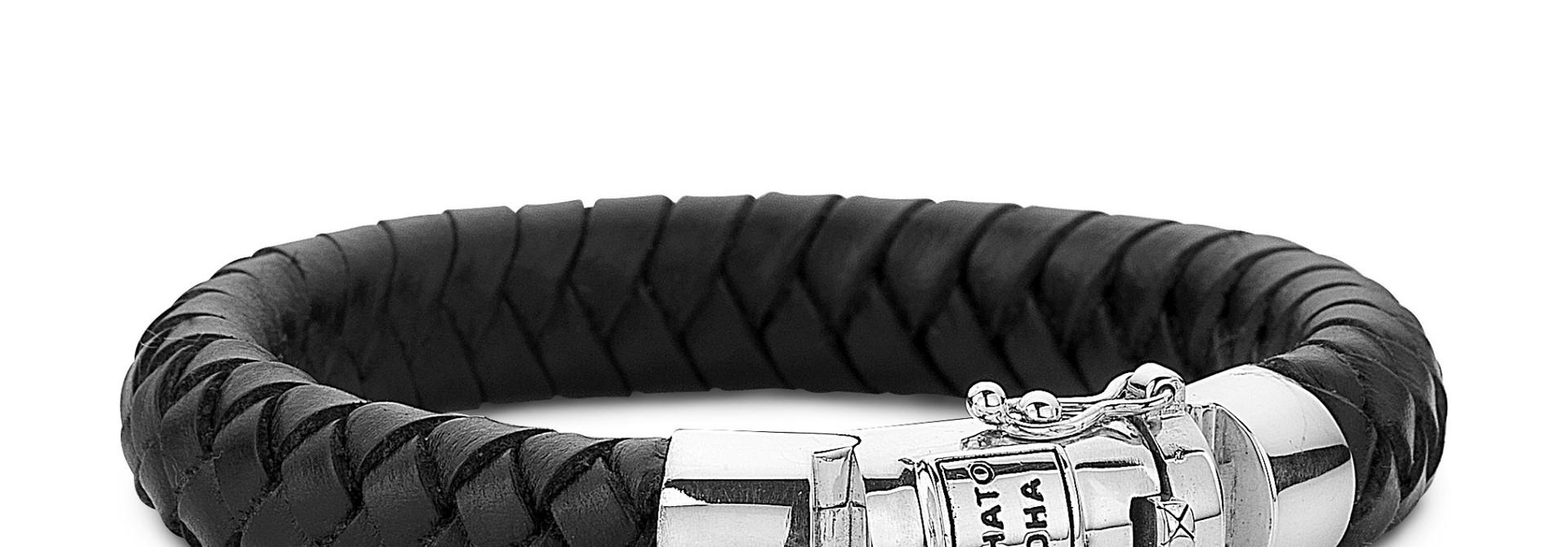 Ben Leather Bracelet Black