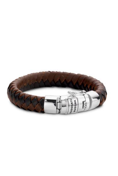 Ben Leather Bracelet Black & Brown