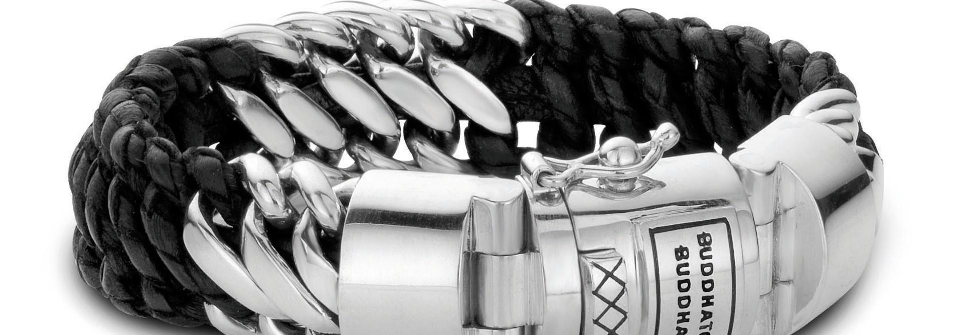 Ben Mix /Leather Bracelet Black