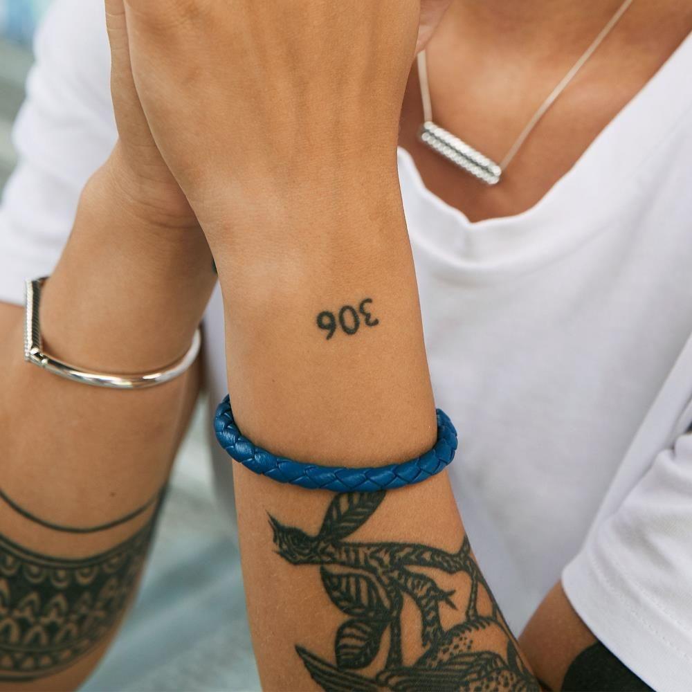 Armband Ben XS Rond Leer Reef-2