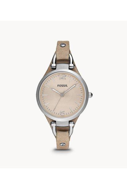 Fossil Georgia Bone Leather Watch ES2830