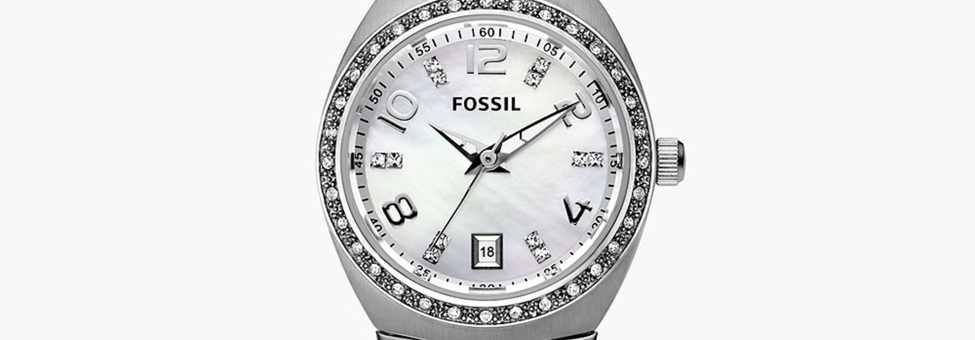 Fossil Colleague Stainless Stainless Steel Watch AM4141