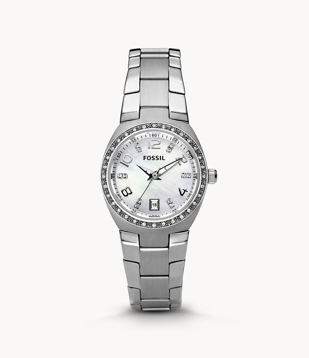 Fossil Colleague Stainless Stainless Steel Watch AM4141-1