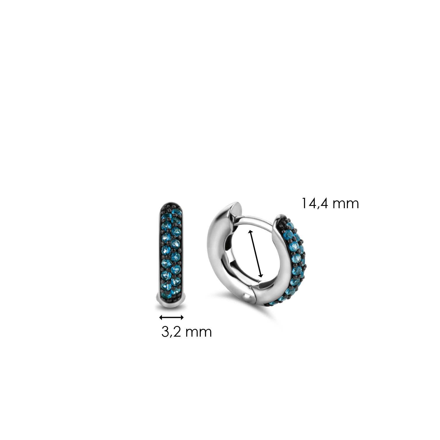 TI SENTO - Milano Earrings 7210DB-5
