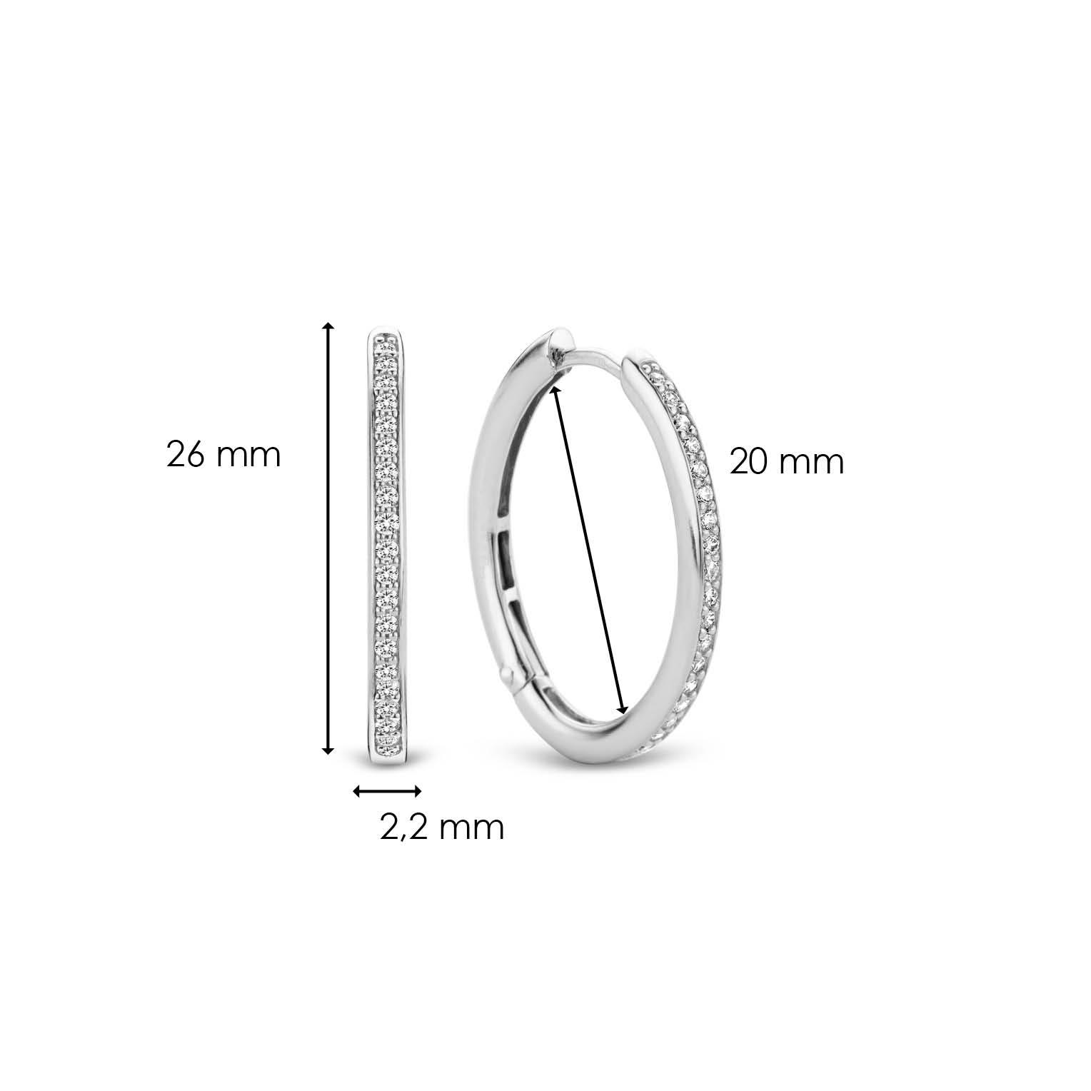TI SENTO - Milano Earrings 7789ZI-7