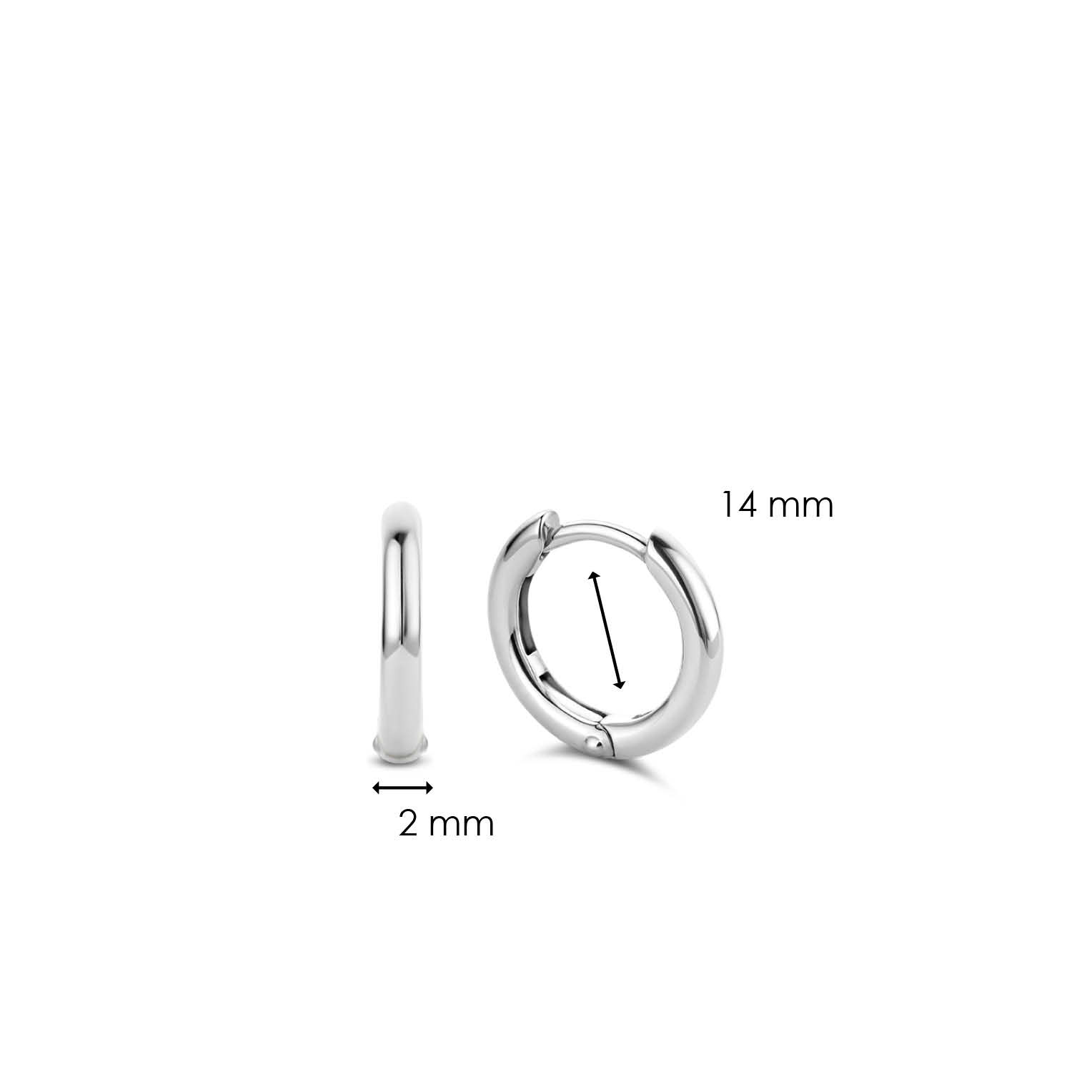 TI SENTO - Milano Earrings 7812SI-5