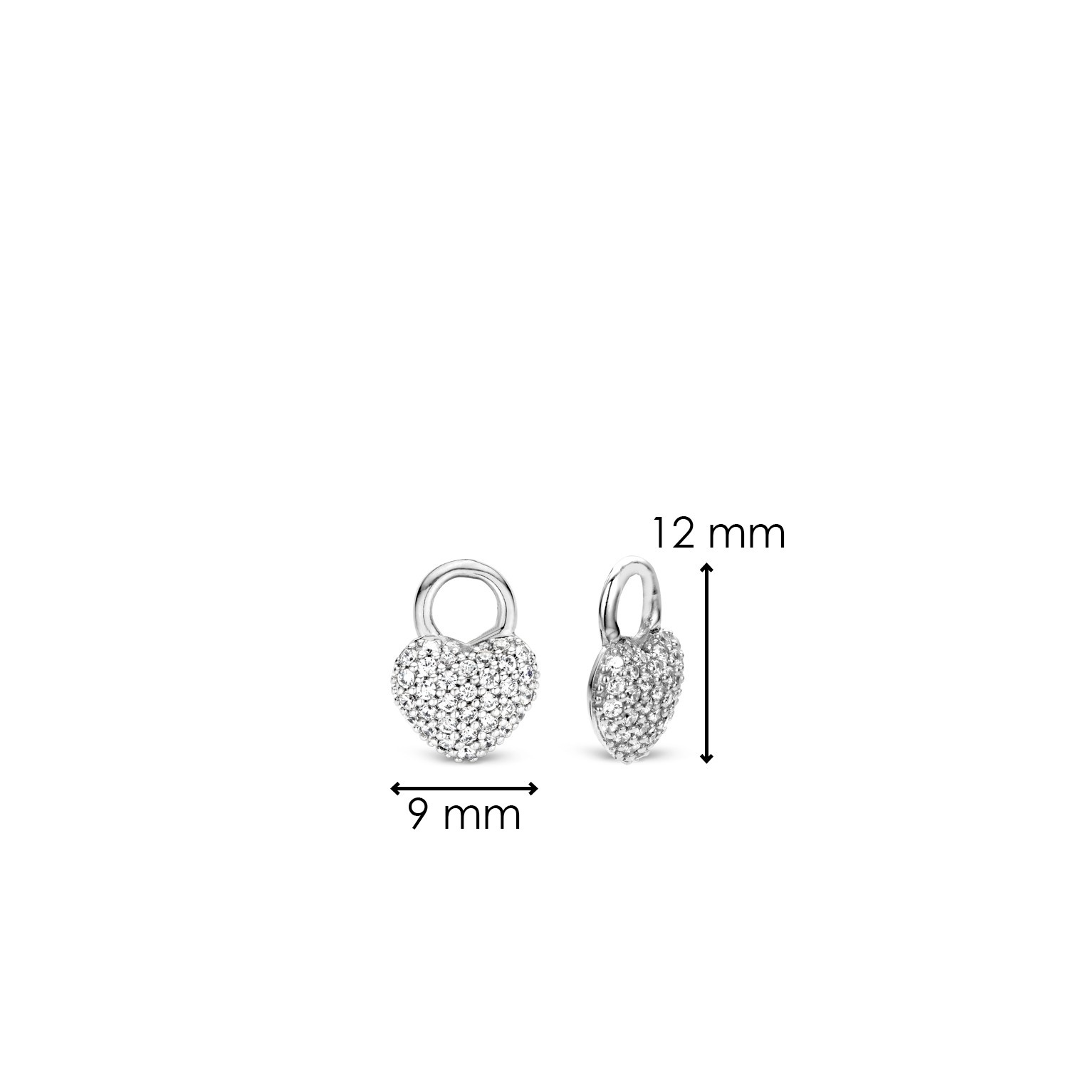 TI SENTO - Milano Ear Charms 9182ZI-4